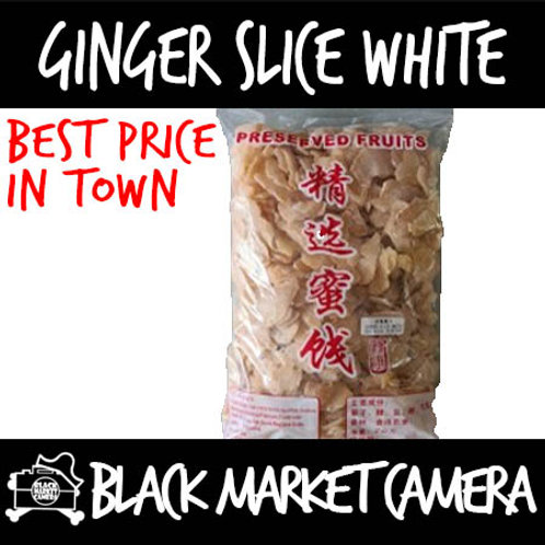 Ginger slice White (2kg) BULK PURCHASE (Snack)