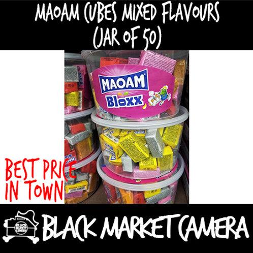 Maoam Cubes mixed flavour (Bulk Quantity)