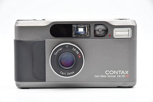 *SOLD* Contax T2D Titanium Black AF Film Compact (used)