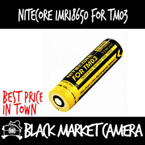 Nitecore IMR18650 2900mAH Battery for TM03