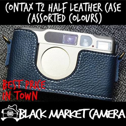 Funper Contax T2 Half Leather Case