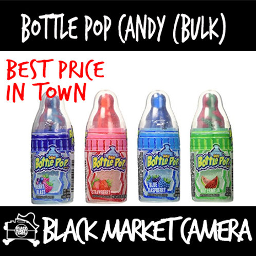 Bottle Pop Candy (1 box, 12 bottle/ BULK QUANITITY)[SWEETS][CANDY]