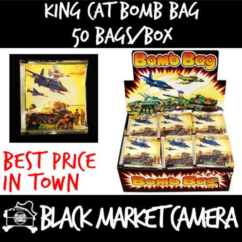 King Cat Bomb Bag (Bulk Quantity, 50 Bags per Box)
