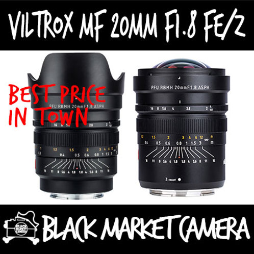 Viltrox MF 20mm F1.8 Z PFU RBMH for Nikon Z Mount