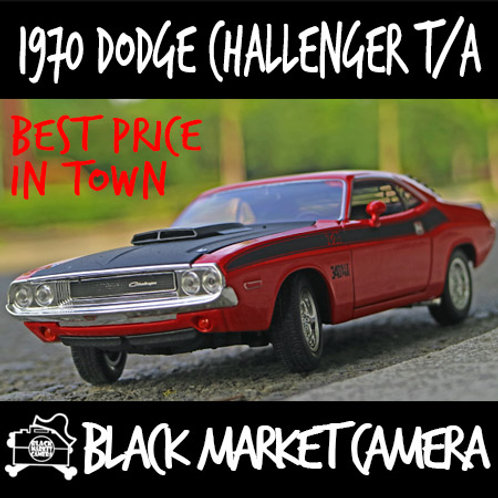 Welly 1:24 1970 Dodge Challenger T/A Car Model