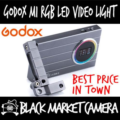 Godox M1 RGB LED Portable On-Camera Video Light