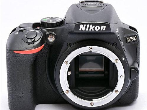 Nikon D5500 (24MP) DSLR Body (used)