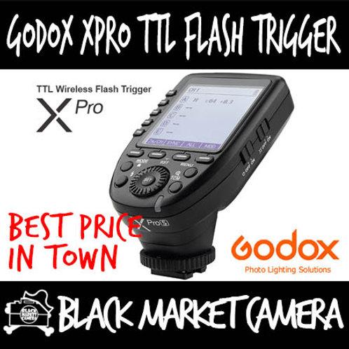 Godox XPro 2.4 GHz TTL Wireless Flash Trigger