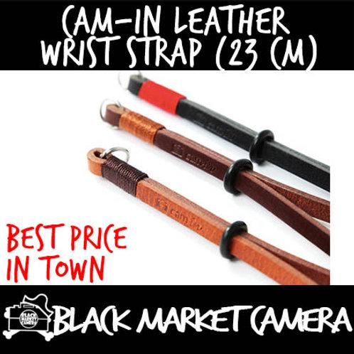 Cam-in Leather Wrist Strap (23 cm)