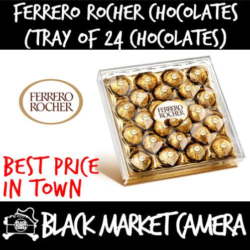 Ferrero Rocher Chocolate (Bulk Quantity, Tray of 24 Chocolates)