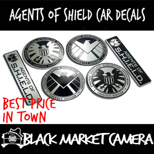 Agents of Shield Car Decals