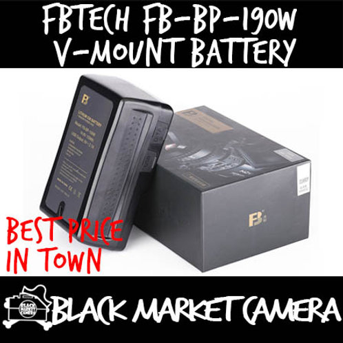 FBTech FB-BP-190W V-Mount Battery