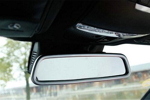 Mercedes Benz Rear View Mirror cover trim GLC - silver