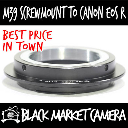 M39/L39 to EOS R Mount Lens Adapter