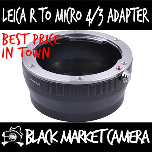Leica R Lens to Micro 4/3 Body Adapter