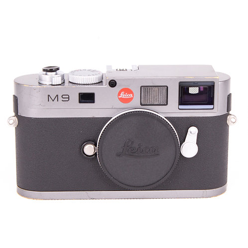 Leica M9 (18MP) Steel Grey Rangefinder (used) *New Sensor*