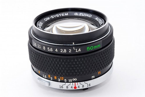 Olympus OM 50mm F1.4 G.Zuiko Auto-S Silver Nosed (used)