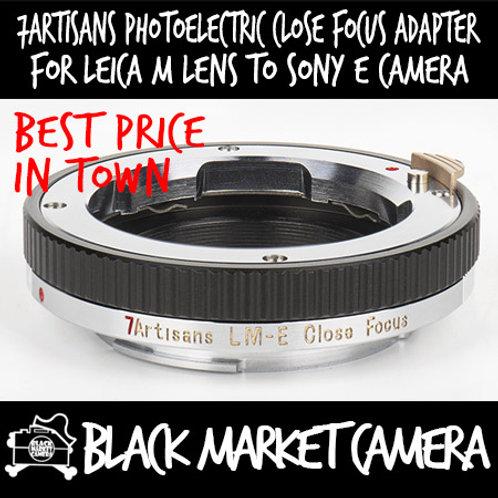 7artisans Close Focus Adapter for Leica M Lens to Sony E Camera