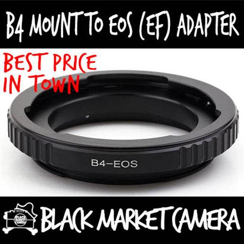 "B4 2/3"" ENG Cine to Canon EOS Lens Adapter"