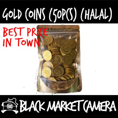 Gold Coins (50pc/Bag)(BULK PURCHASE)[CHOCOLATE]
