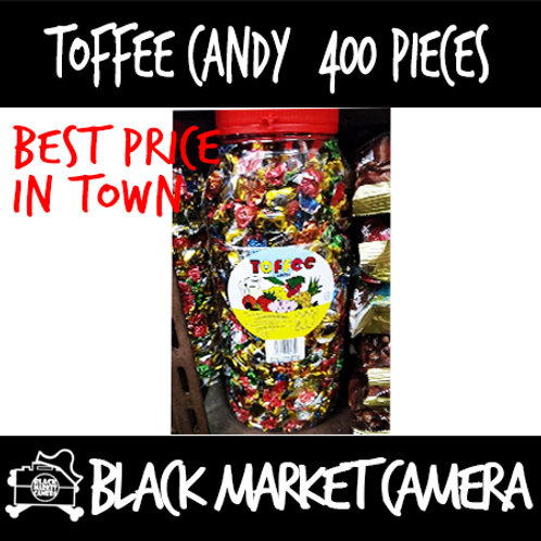 Toffee Candy (Bulk Quantity, 400pcs Per bottle)