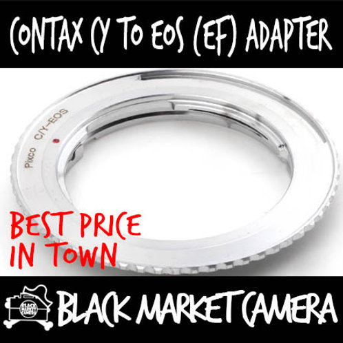 Contax CY to Canon EOS Lens Adapter