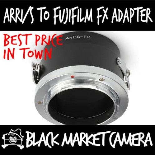 ARRi/S Lens to Fuji FX Mount Body Adapter