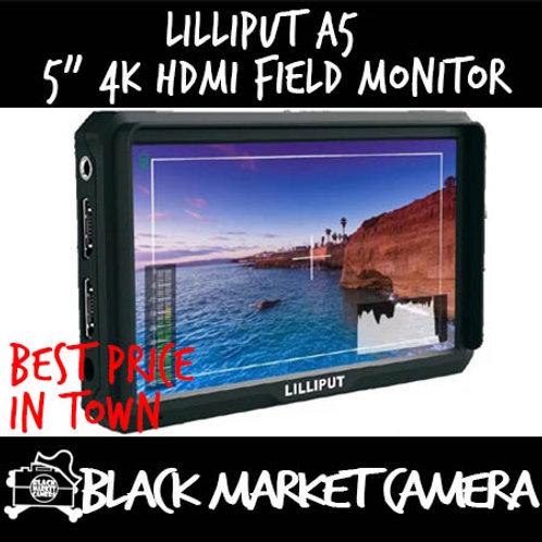 "Lilliput 5"" 4K HDMI Full HD On-Camera Monitor"