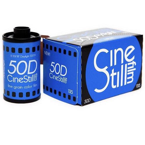 Cinestill 50D Daylight 50 36 Exp Colour Negative Film (135)