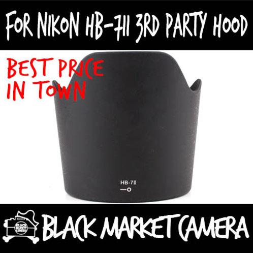 For Nikon HB-7II Third Party Lens Hood