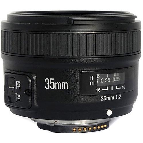 Yongnuo YN 35mm F2 Lens for Nikon F