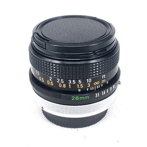 Canon FD 28mm F3.5 (used)