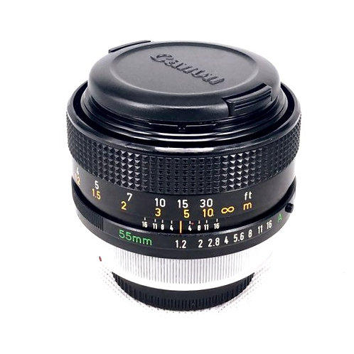 Canon FD 55mm F1.2 SSC (used)