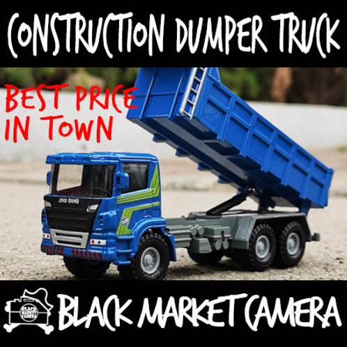 JB 1:50 Construction Dumper Truck Diecast Model