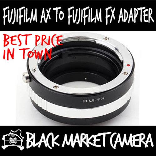 Fujica AX Lens to Fuji FX Mount Body Adapter