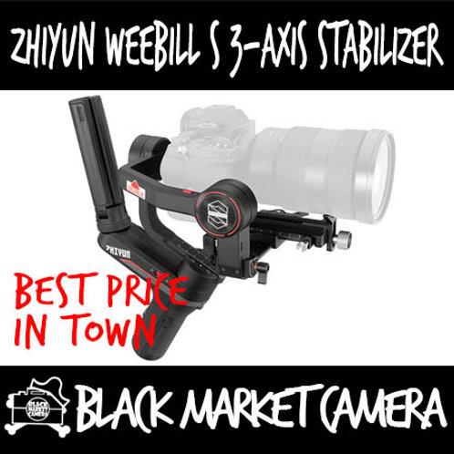 Zhiyun Weebill S 3-Axis Gimbal Stabilizer For Mirrorless