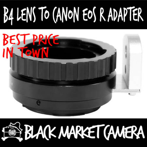 B4 to EOS R Mount Lens Adapter
