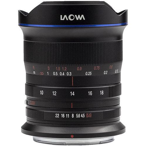 Venus Optics Laowa 10-18mm F4.5-5.6 FE Zoom Lens for Nikon Z