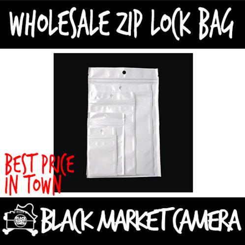 Resealable Ziplock Packaging Plastic Bags   Bundle of 1o
