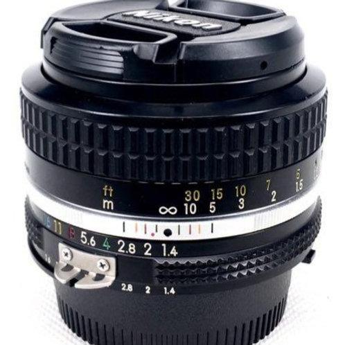 Nikon 50mm F1.4 Ai (used)
