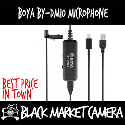 Boya BY-DM10 Lavalier Microphone