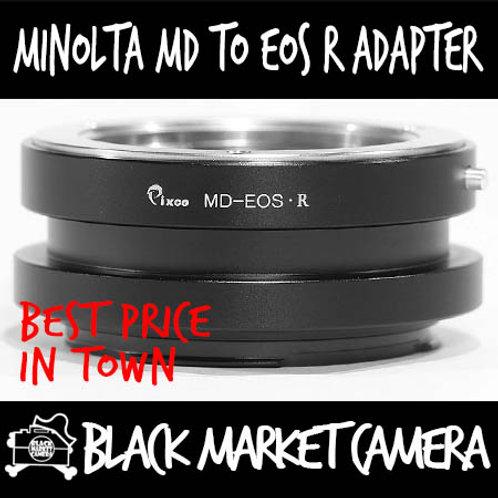 Minolta MD to EOS R Mount Lens Adapter