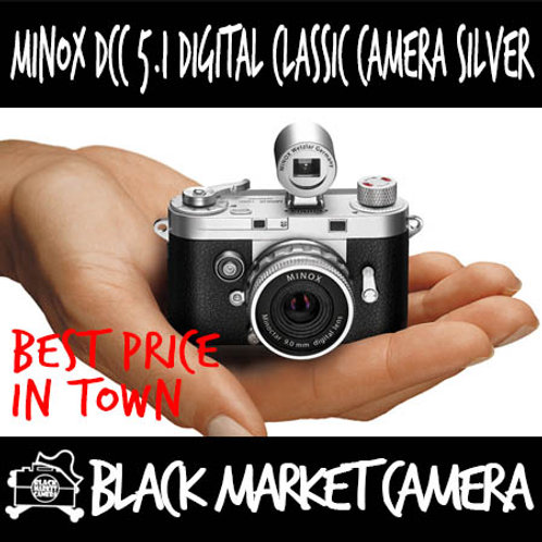 Minox DCC 5.1 Digital Classic Camera Silver Edition