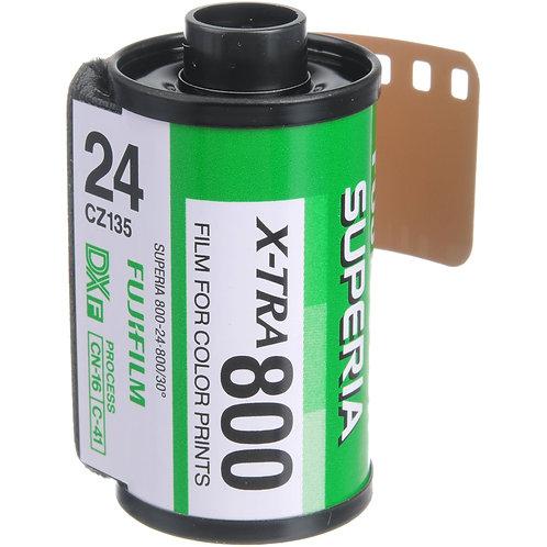 Fujifilm Superia X-Tra 800 24 Exp Colour Negative Film (135)