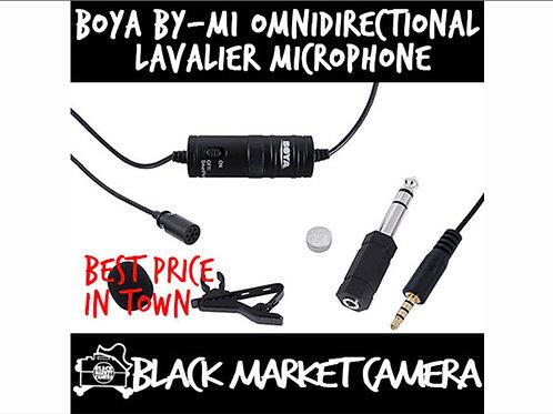 BOYA BY-M1 Omni Directional Lavalier Microphone