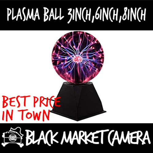 Car Socket Plasma Ball/Globe [ 3 inch/6 inch /8 inch  ]