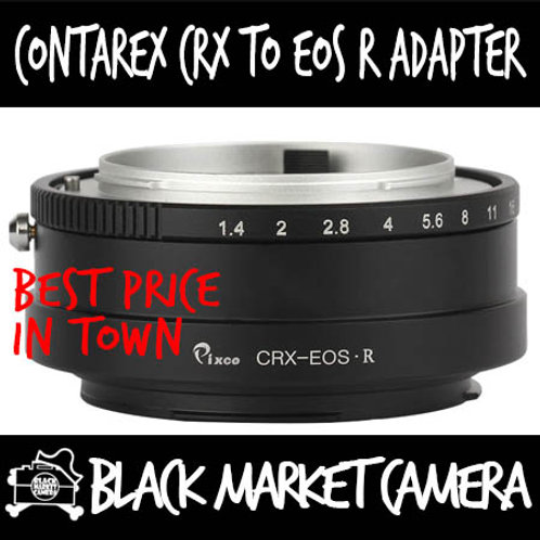 Contarex CRX to EOS R to EOS R Mount Lens Adapter