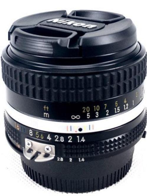 Nikon 50mm F1.4 Ais (used)