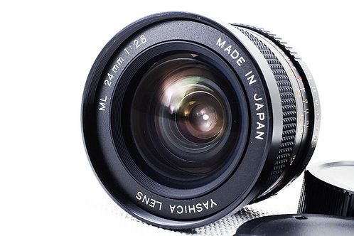 Yashica ML 24mm F2.8 CY (used)