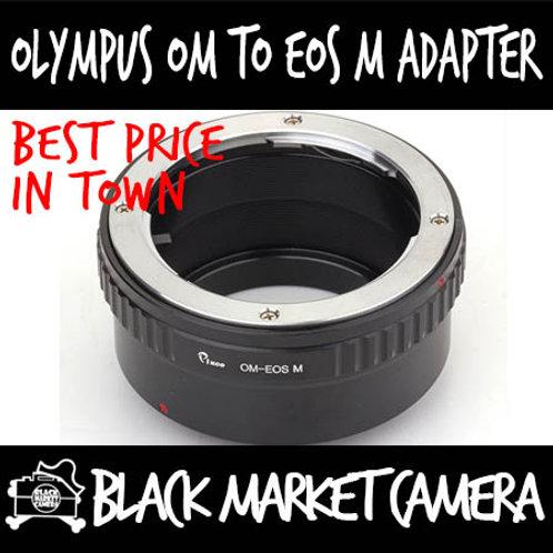 Olympus OM Lens to Canon EOS M Camera